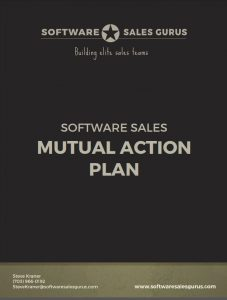 MAP - Mutual Action Plan - Software Sales Gurus
