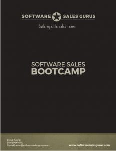 software sales bootcamp