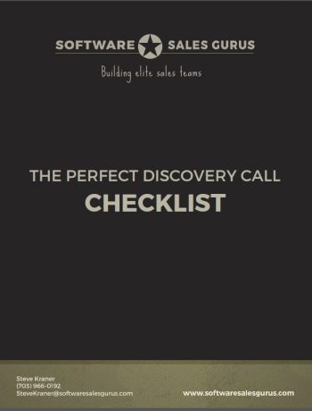 perfect discovery call checklist -Software Sales Gurus