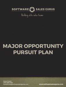 MAJOR OPPORTUNITY PURSUIT PLAN