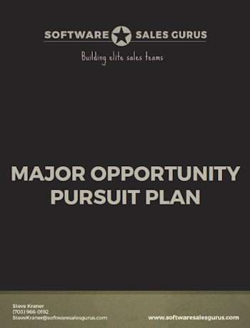 MAJOR OPPORTUNITY PURSUIT PLAN