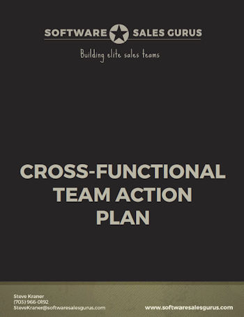 CROSS-FUNCTIONAL TEAM ACTION PLAN