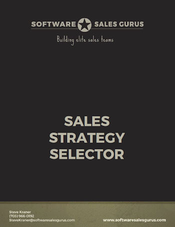 Sales Strategy Selector